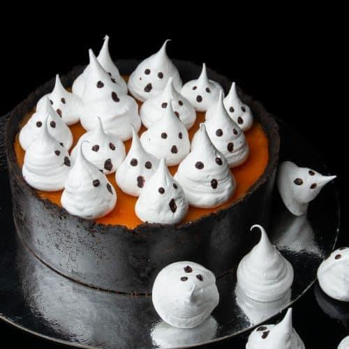 No bake pumpkin cheese cake