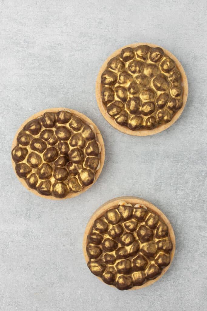 Triple Hazelnut Tart