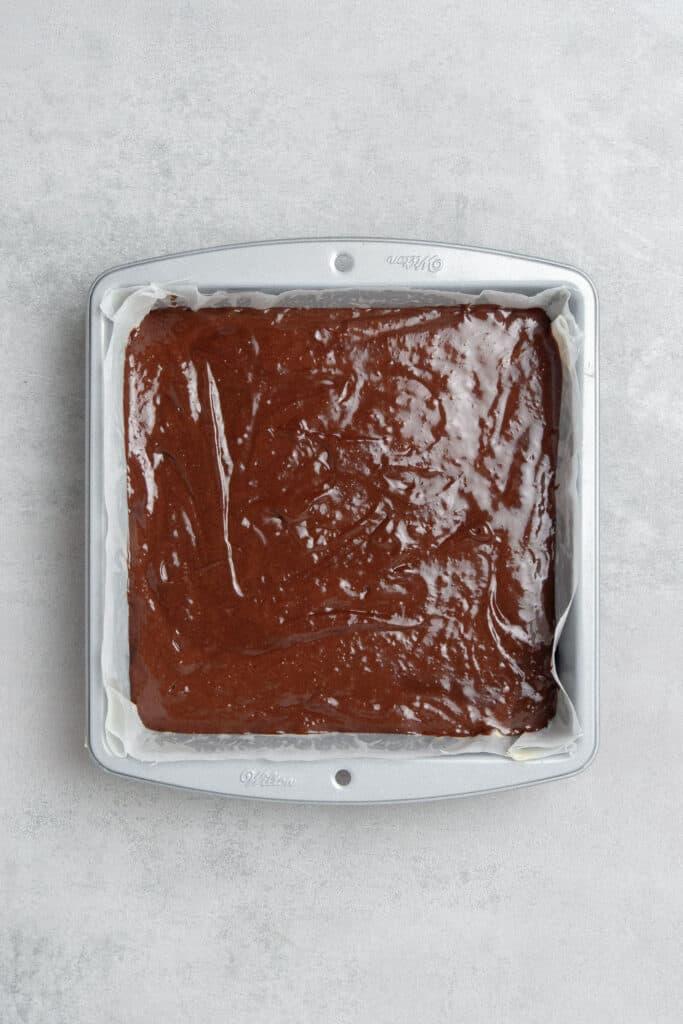 Coffee brownie process