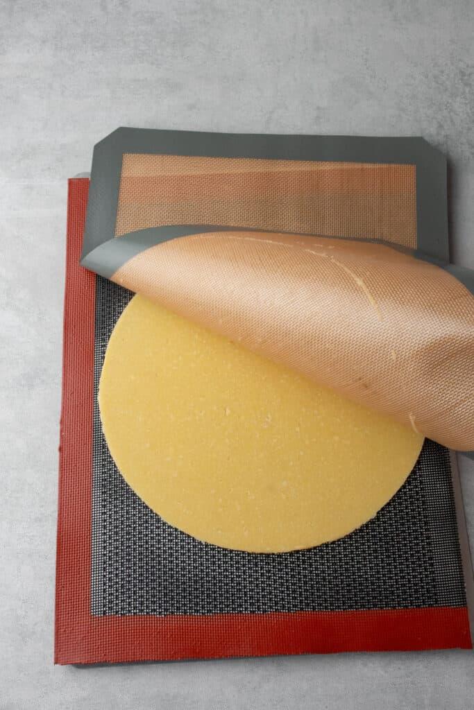Frangipane tart process