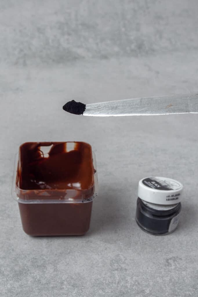 Chocolate decoration process