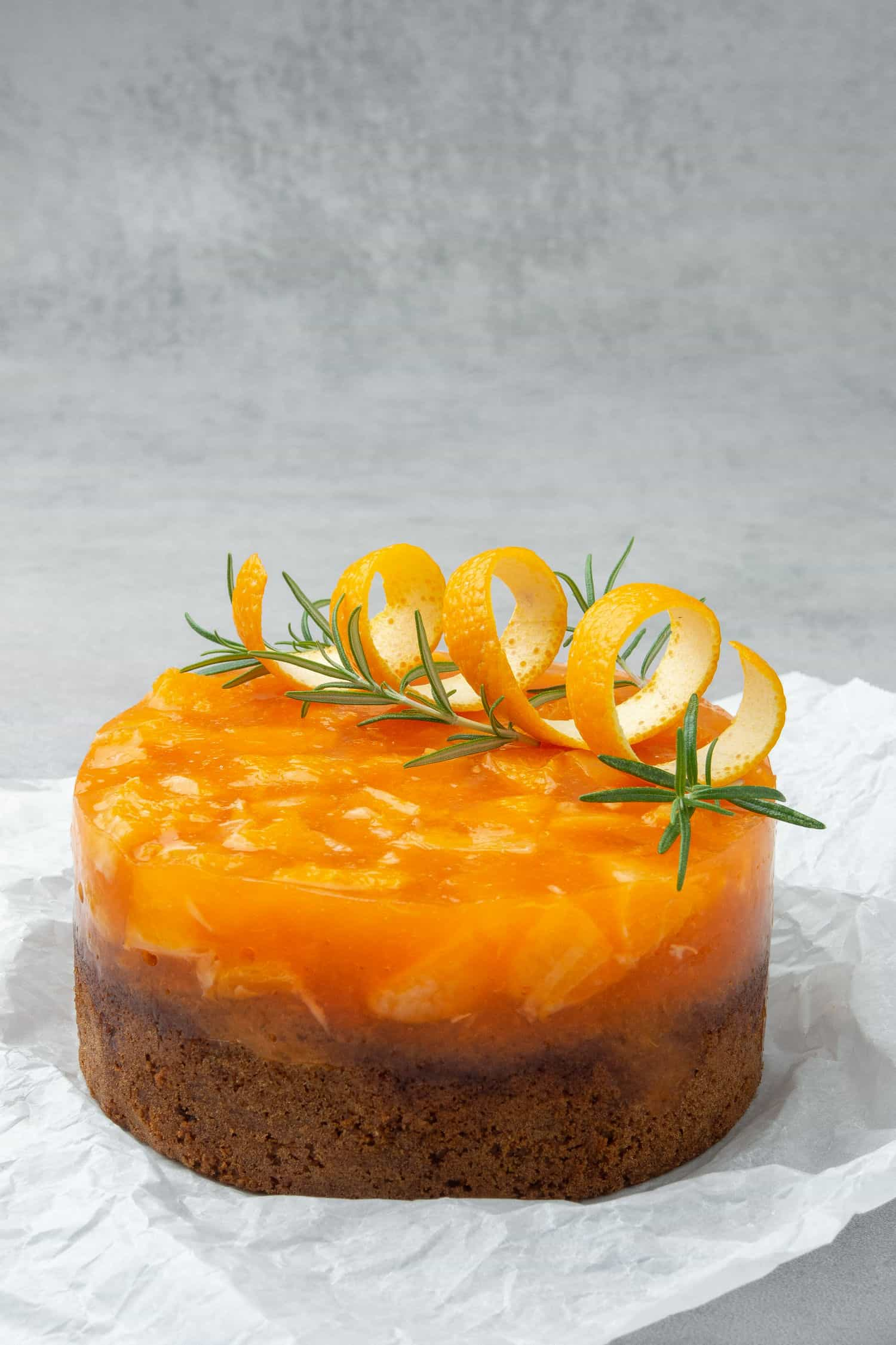 Aperol spritz cake