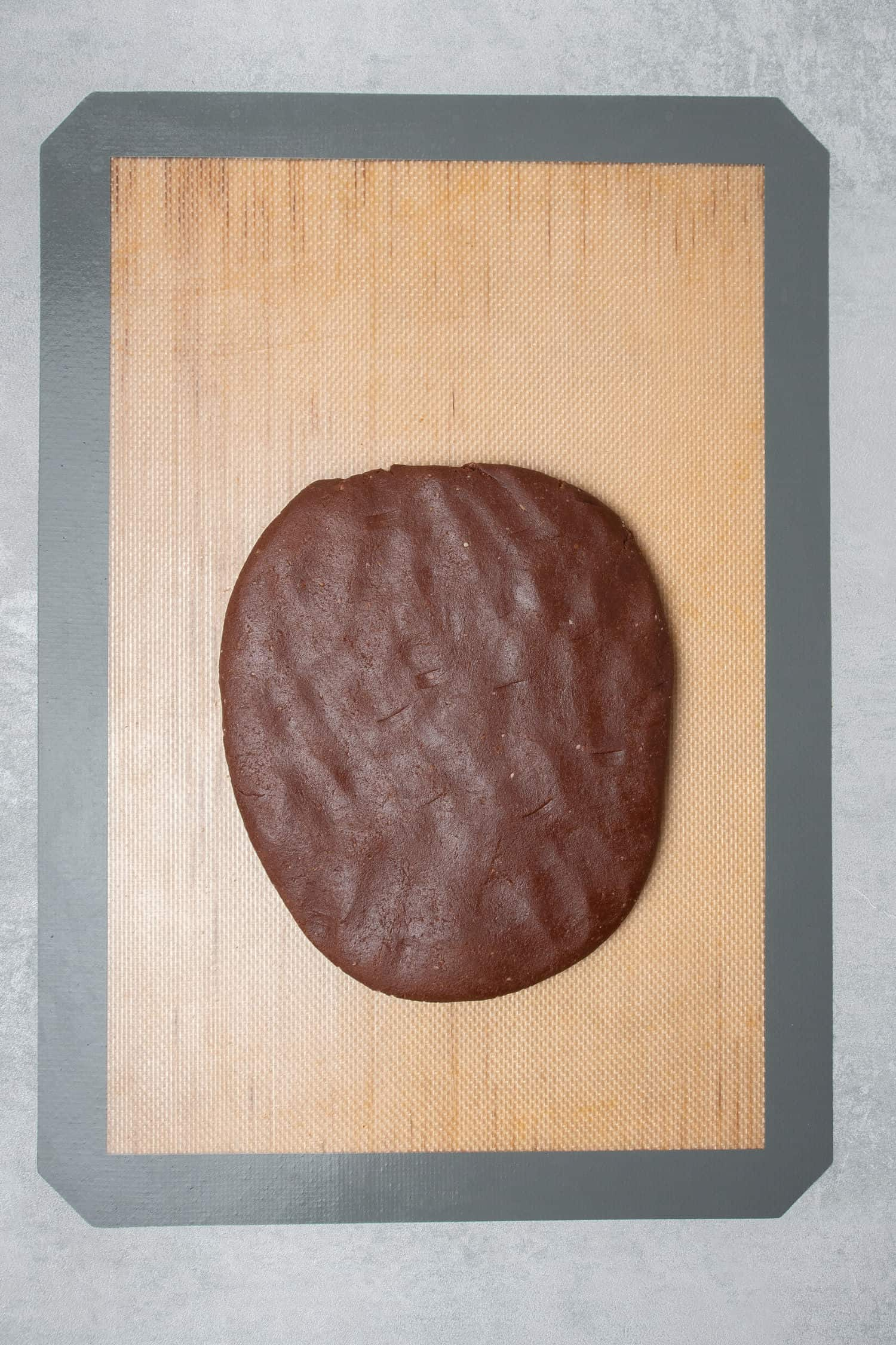 Chocolate Pâte Sablée process