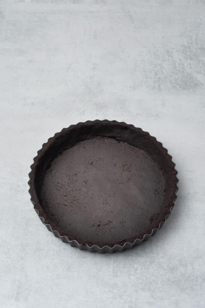 No bake peanut butter pie process