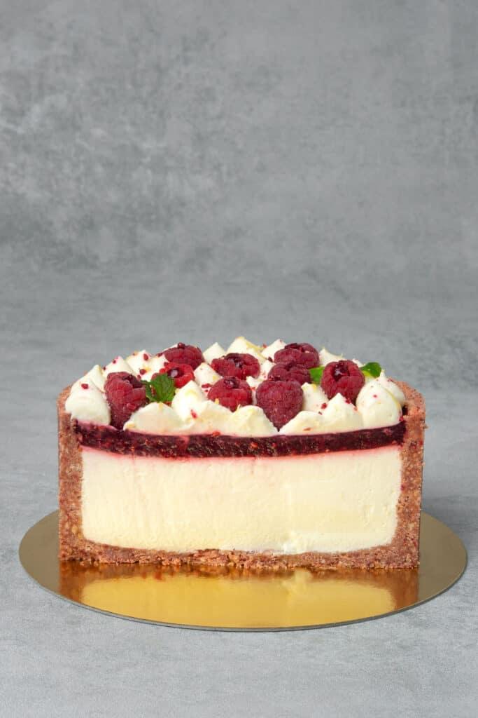 No bake raspberry cheese cake