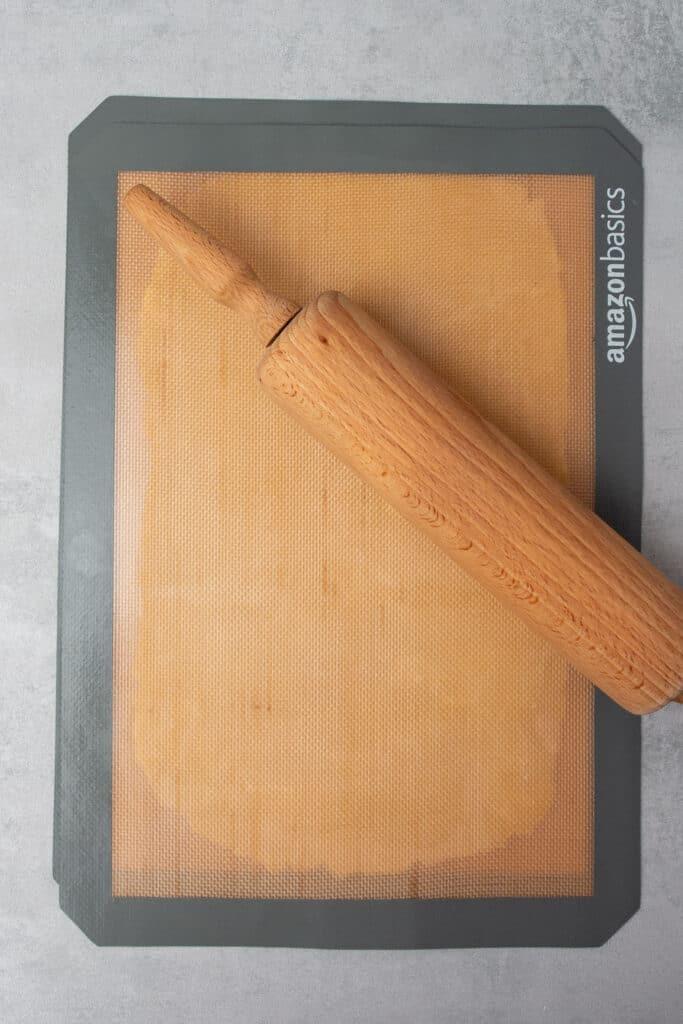 Peach galette process