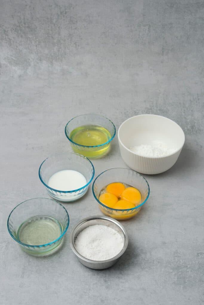 Tiramisu cake roll ingredients